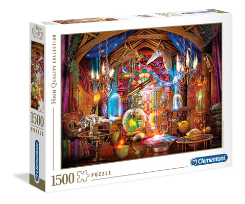 Clementoni: Wizards Workshop - 1500pc Puzzle
