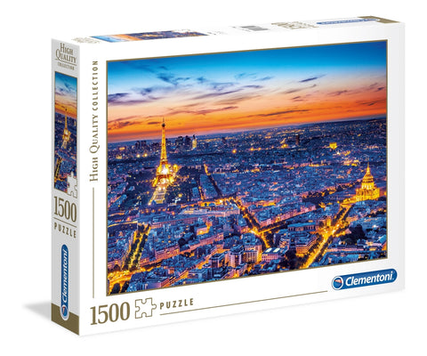 Clementoni: Paris View - 1500pc Puzzle