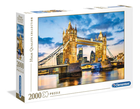 Clementoni: Tower Bridge at Dusk - 2000pc Puzzle