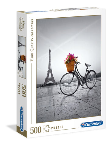 Clementoni: Romantic Promenade Paris - 500pc Puzzle