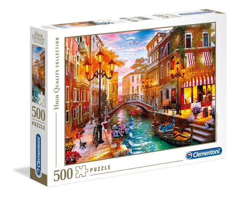Clementoni: Sunset Over Venice - 500pc Puzzle