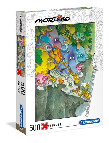 Clementoni: Mordillo - The Surrender - 500pc Puzzle
