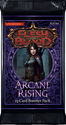 Flesh and Blood TCG: Arcane Rising Booster Pack (Unlimited)