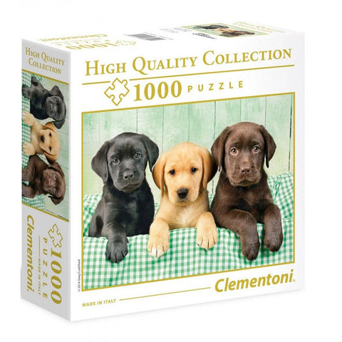 Clementoni: Three Labs Puzzle (1000pc)