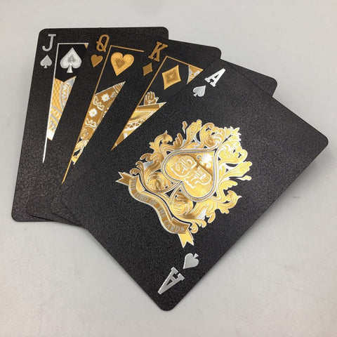 Dal Rossi: Black Playing Cards
