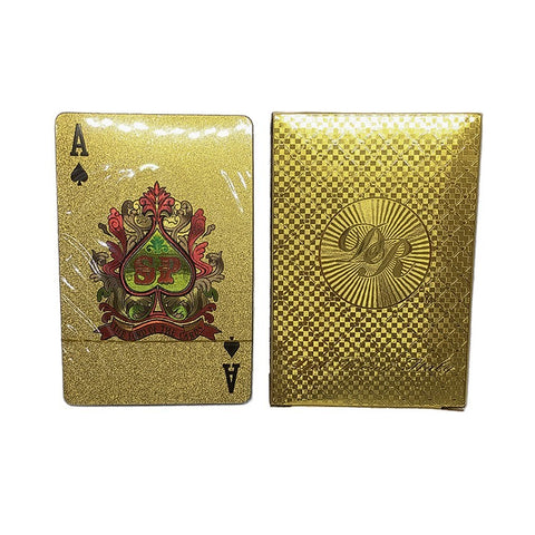 Dal Rossi: Gold Playing Cards