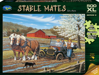 Holdson XL: 500 Piece Puzzle - Stable Mates S2 (Get A Horse!)
