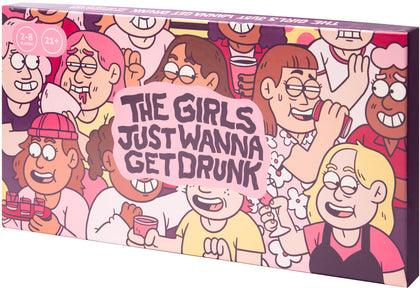 The Girls Just Wanna Get Drunk - Party Game