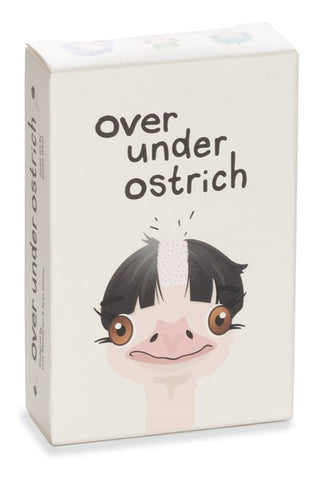 Over Under Ostrich - Card Game