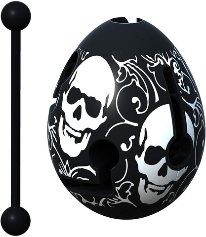 Smart Egg: 1-Layer Labyrinth Game - Skull