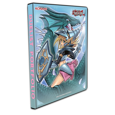 Yu-Gi-Oh! Dark Magician Girl the Dragon Knight 9-Pocket Portfolio