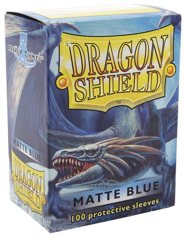 Dragon Shield Matte Blue Card Sleeves