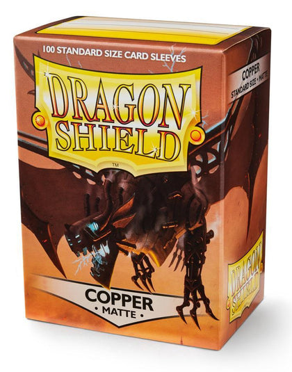 Dragon Shield Matte Copper Card Sleeves