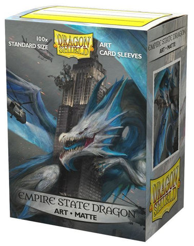 Dragon Shield: Empire State Dragon Matte Art Sleeves