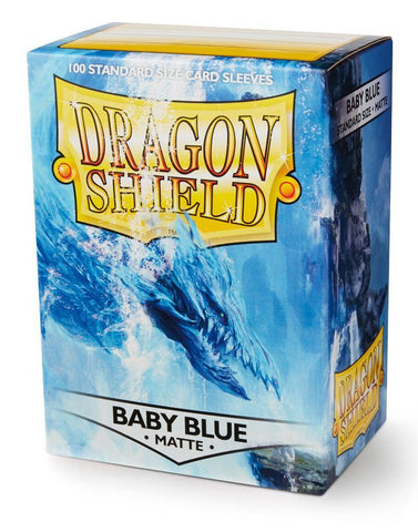 Dragon Shield: Matte Baby Blue Sleeves