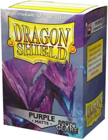 Dragon Shield: Matte Non-Glare Purple Sleeves