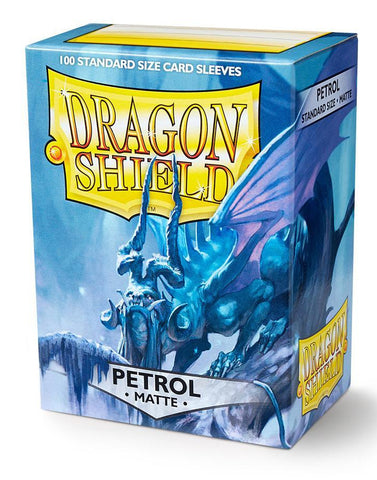 Dragon Shield: Matte Petrol Sleeves