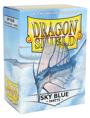 Dragon Shield: Matte Sky Blue Sleeves