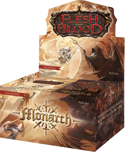 Flesh and Blood TCG: Monarch Booster Box (Unlimited Edition)