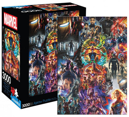 Marvel: 3,000-Piece Puzzle - MCU Collage