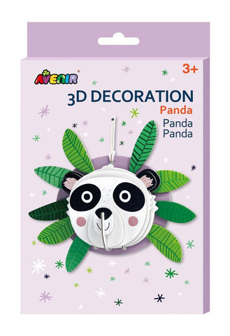 Avenir: 3D Decoration Wall Puzzle - Panda