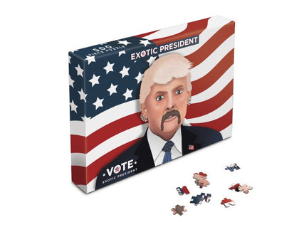 Bubblegum Stuff: Tiger King - Vote Joe Exotic President Puzzle