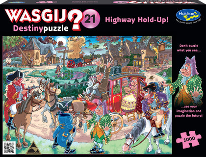 Wasgij: 1000 Piece Puzzle - Destiny #21 (Highway Holdup)