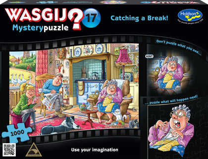 Wasgij: 1000 Piece Puzzle - Mystery #17 (Catching a Break)