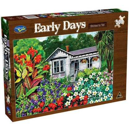 Holdson: Early Days 500pc Jigsaw Puzzle - Stories to Tell