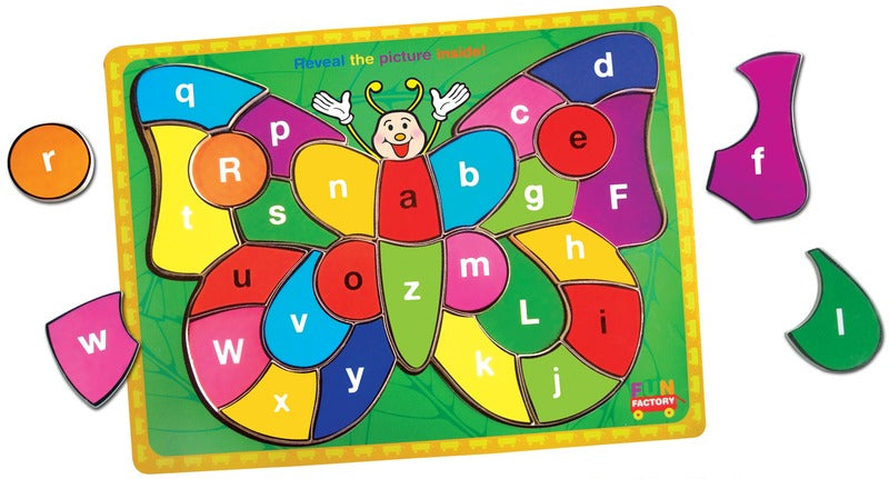 Fun Factory - Raised Puzzle Butterfly