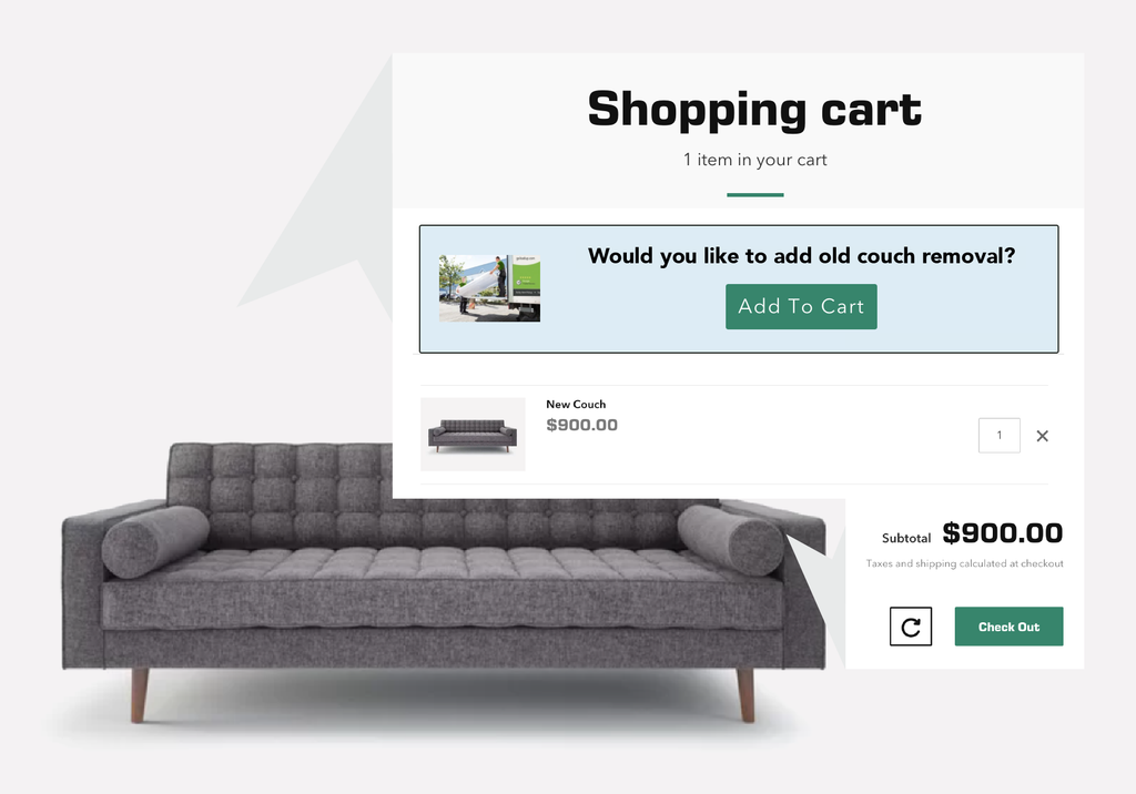 In Cart Add-On Demo Integration