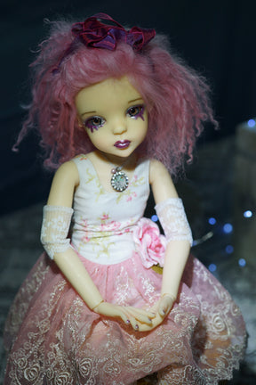 Cry Pretty by Bo Bergemann. - Completed Original Fine Art Doll