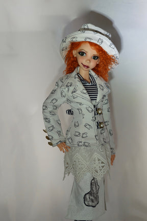 Mad as a Hatter by Bo Bergemann  - Completed Original Fine Art Doll