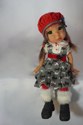 Scottie Christmas Cutie by Bo Bergemann - Completed Artist Doll - SOLD OUT!