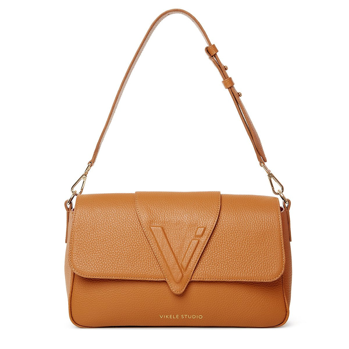 NAME BAG DARK ORANGE