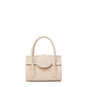 GRACIA MINI BAG CROCO PINK
