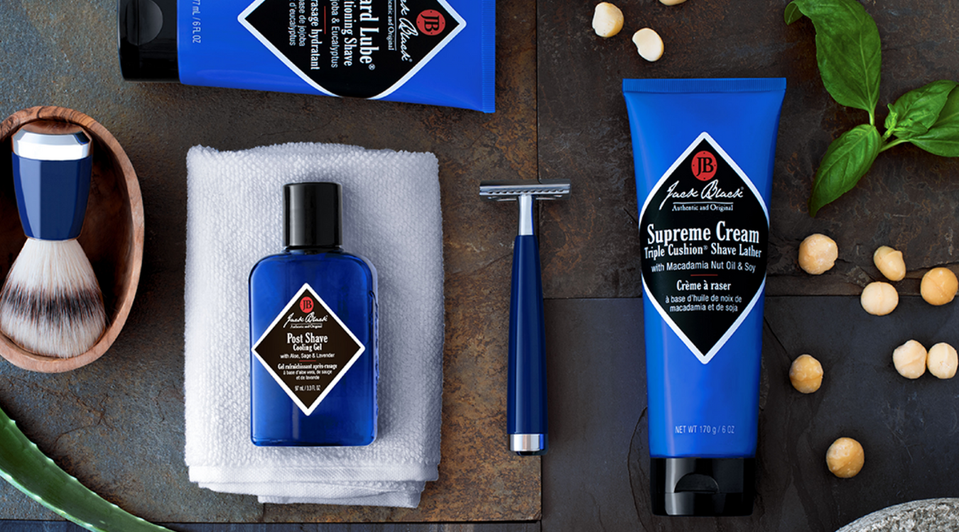 Jack Black's fantastic skin care and mens grooming range now available through www.swaggerbox.co.uk