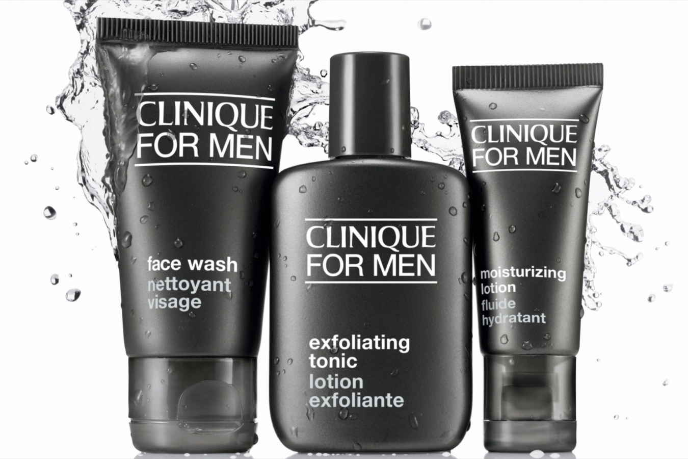 Clinique for men is now available through www.swaggerbox.co.uk