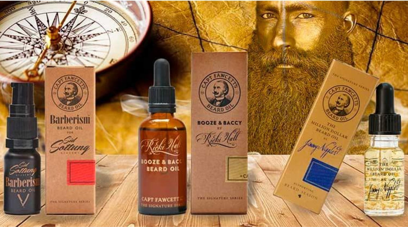 Captain Fawcett's fantastic range is now available through www.swaggerbox.co.uk