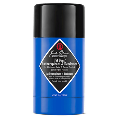 Jack black pit boss antiperspirant & deodorant available through swaggerbox