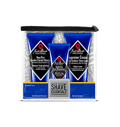 Jack black shaving essentials kit