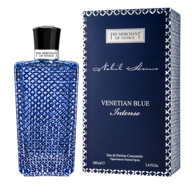 The Merchant of Venice Venetian Blue Intense now available through swaggerbox