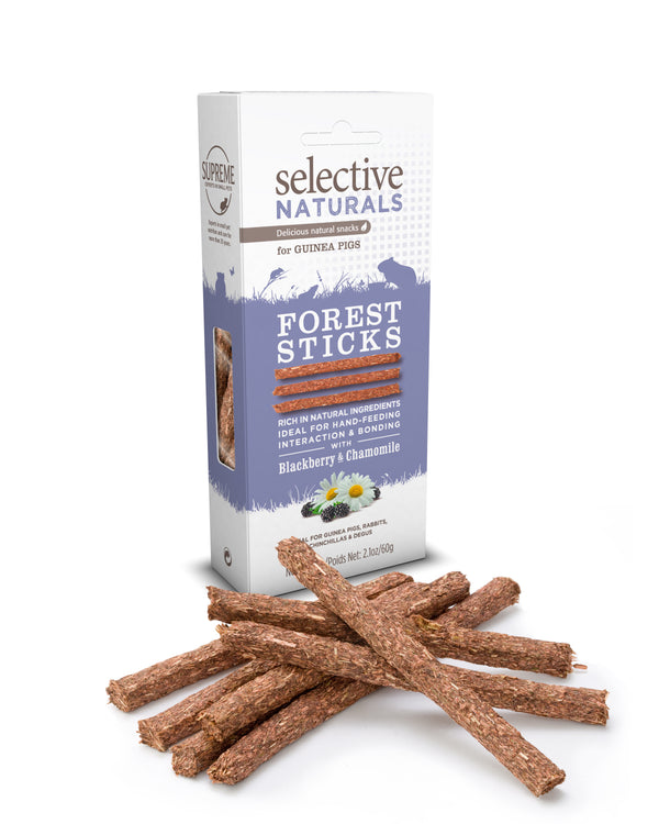 Supreme Selective Naturals Forest Sticks with Blackberry & Chamomile 60g