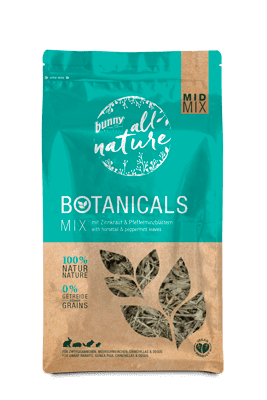 Bunny Nature Mid-Mix Horsetail & Peppermint Leaves 120g
