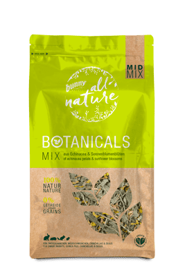 Bunny Nature Mid-Mix Echinacea Petals & Sunflower Blossoms 140g