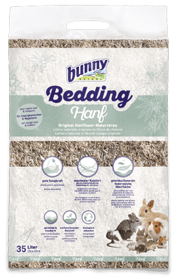 Bunny Nature BunnyBedding Hanf (hemp) 35L