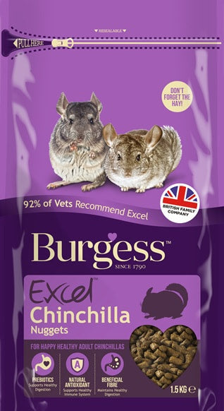 Burgess Excel Chinchilla Food