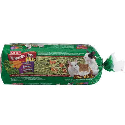 KAYTEE, Timothy Hay Plus Carrot 24oz
