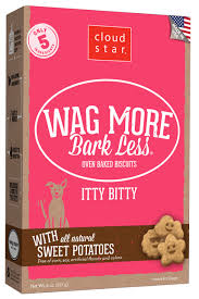 Cloudstar Wag More Bark Less Oven Baked Itty Bitty 8oz