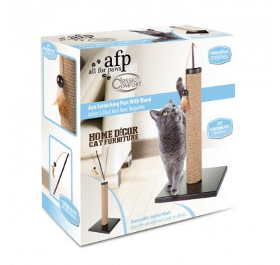 AFP Classic Comfort AON Scratch Post with Wand